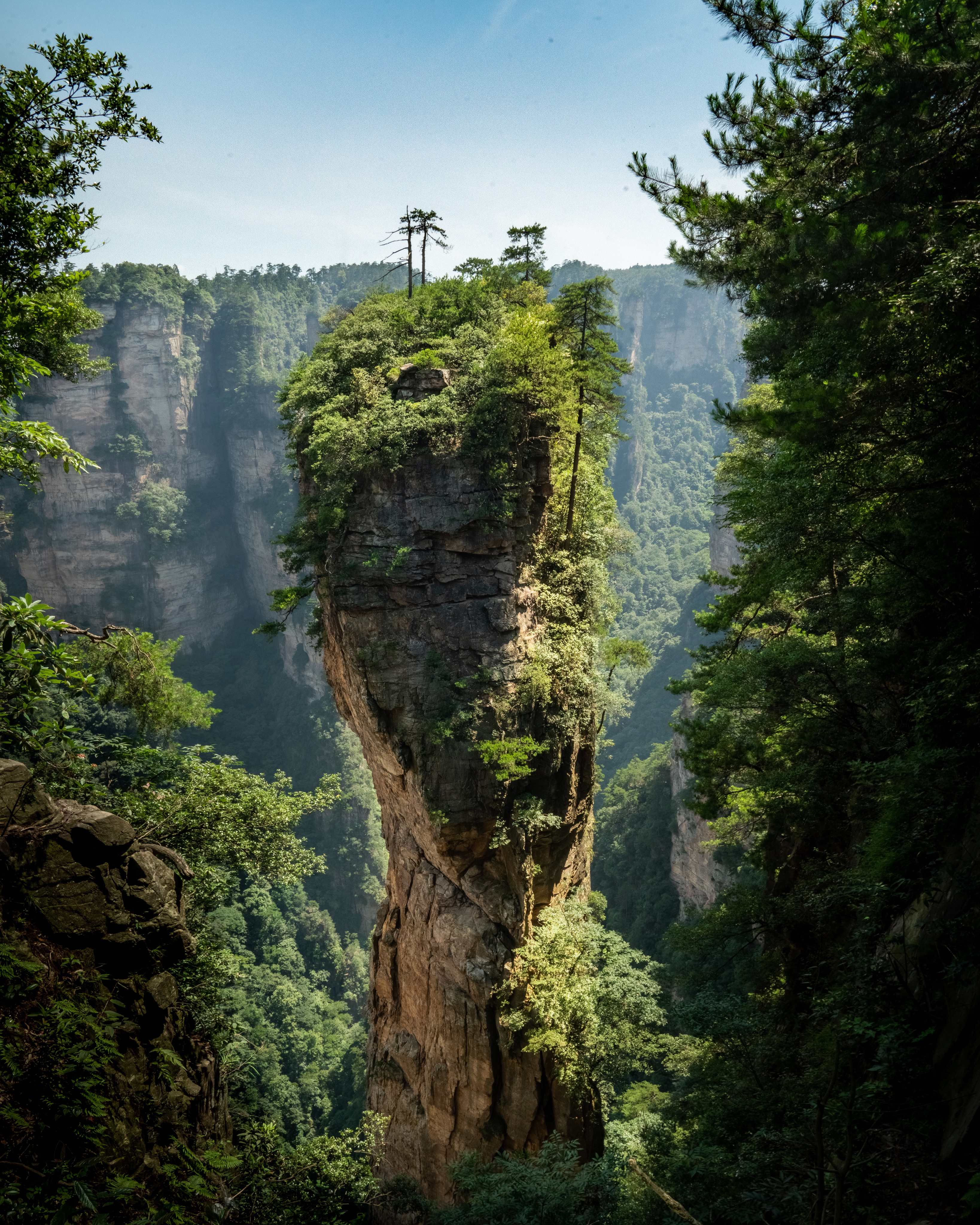 """Avatar Mountain"" in China"